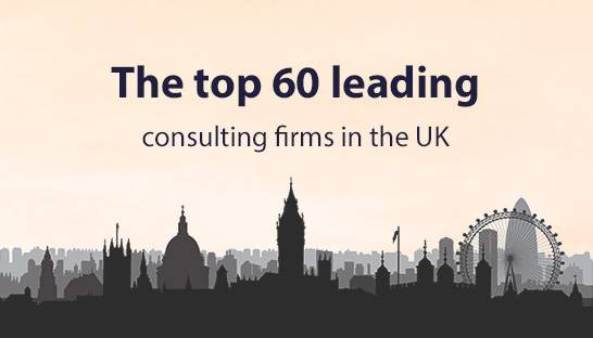 The UK's 60 leading management consulting firms