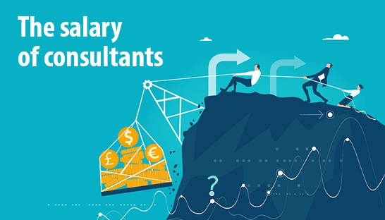 The salary of consultants in the UK consulting industry