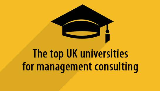 The top UK universities for management consulting