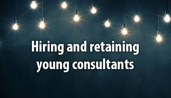 Hiring and retaining young consultants in the UK