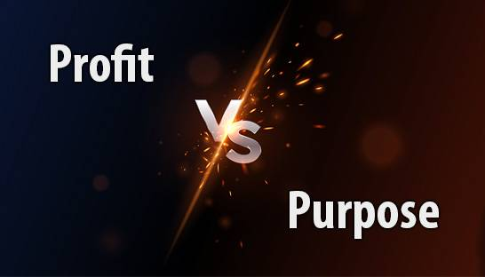 Why purpose doesn't have to override profit