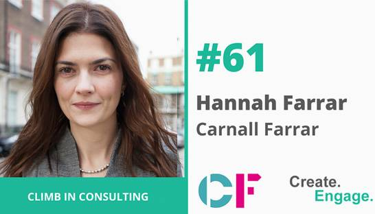 Create Engage launches podcast with CF co-founder Hannah Farrar