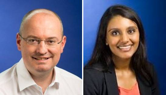Steven Abbott and Tarifa Simpson partner at Mazars