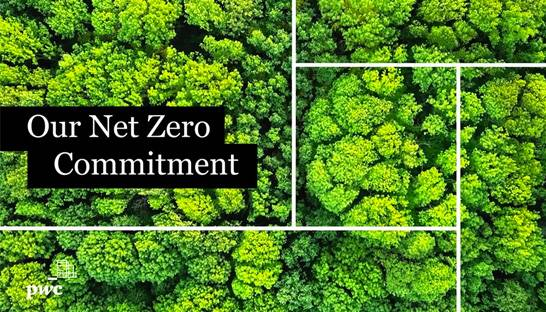 Professional services giant PwC commits to net-zero by 2030