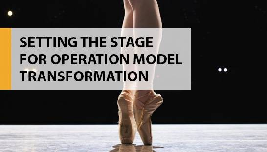 Key success factors for operating model transformation
