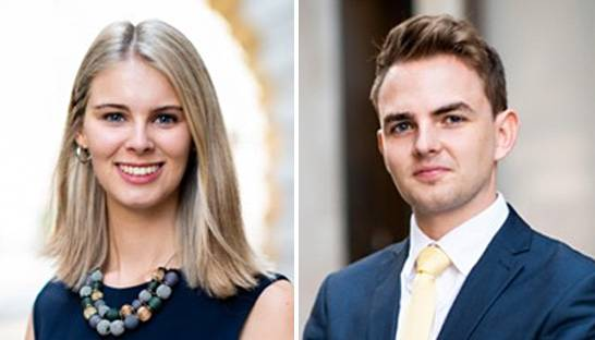 Eden McCallum promotes Emily Gowers and Jamie Roberts