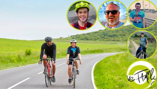 Consistency's UK team to cycle 1,200 miles for charity