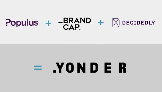 BrandCap, Decidedly and Populus join forces to launch Yonder