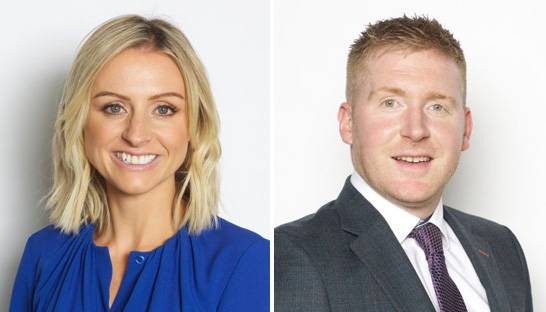 Amanda Ward and Brian O'Sullivan partner at Grant Thornton Ireland