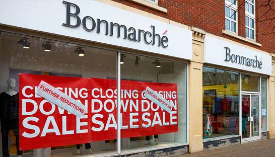 Bonmarché appoints RSM for second administration in 18 months