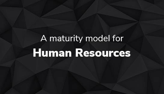 HR: Maturity model and assessment for human resources function