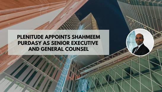 Shahmeem Purdasy joins financial crime specialist Plenitude