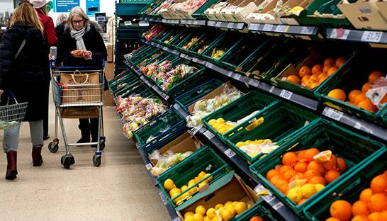 Brexit expected to lead to higher food prices for consumers