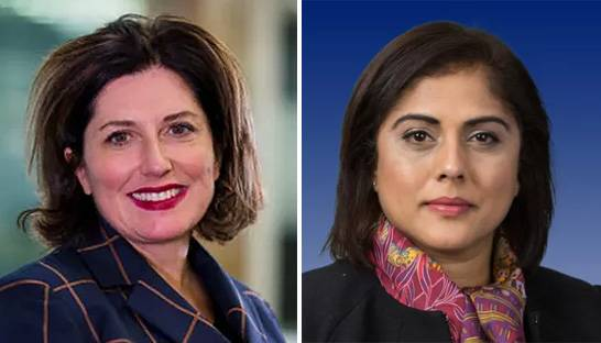 Mary O'Connor and Bina Mehta lead KPMG in the UK