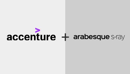 Accenture invests in ESG specialist Arabesque S-Ray