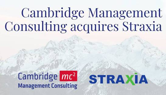 Cambridge Management Consulting buys telecom specialist Straxia