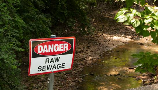 Utilities firms under fire for sewage discharge practices