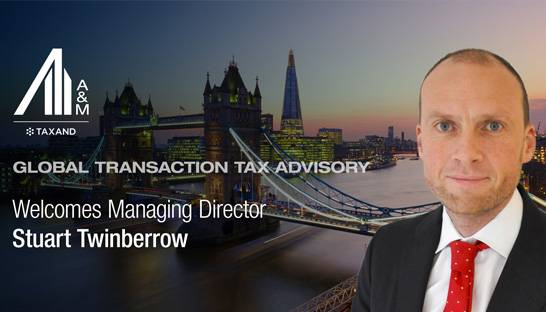Alvarez & Marsal Taxand hires Stuart Twinberrow as Managing Director