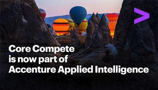 Accenture acquires cloud analytics firm Core Compete