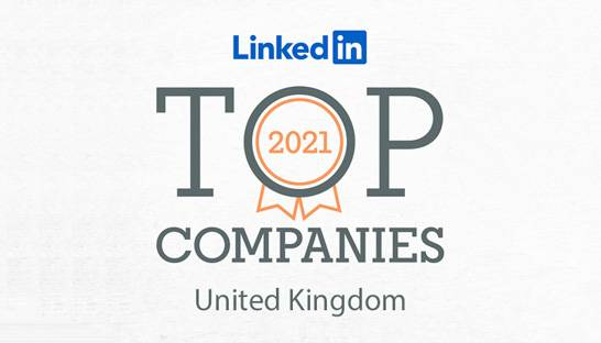 Large professional services firms named to UK's top 25 employers