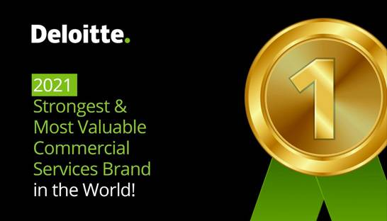 Deloitte is the world's most valuable professional services brand