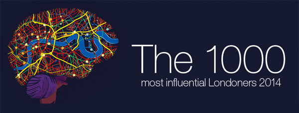 1000 most influential Londoners 2014