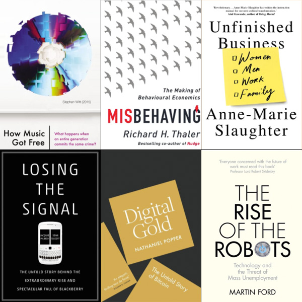 6 books shortlisted for Business Book of the Year Award