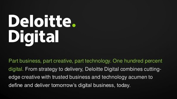 About Deloitte Digital