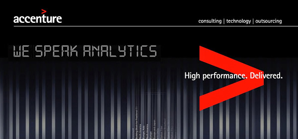 Accenture - We speak Analytics