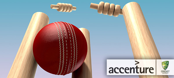 Accenture Digital Technology Partner of Cricket Australia