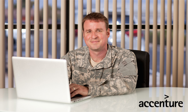 Accenture US hire 5,000 veterans by 2020