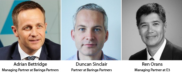 Adrian Bettridge, Duncan Sinclair, Ren Orans