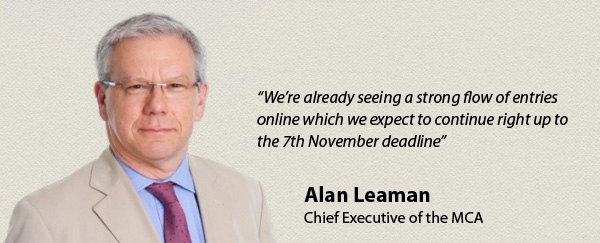 Alan Leaman - Deadline MCA Awards is nearing
