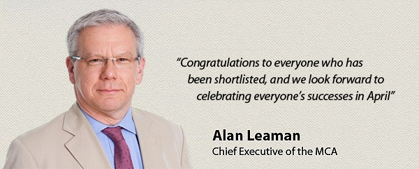 Alan Leaman - MCA Awards 2015