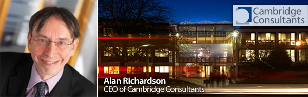Alan Richardson, CEO of Cambridge Consultants