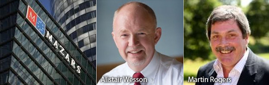 Alistair Wesson - Martin Rogers - Mazars