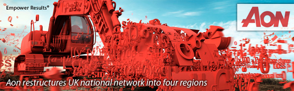Aon restructures UK national network