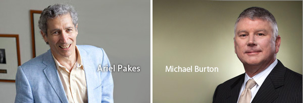 Ariel Pakes and Michael Burton