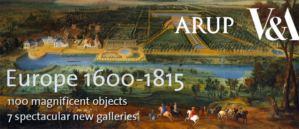 Arup supports V&As new Europe 1600-1815 galleries