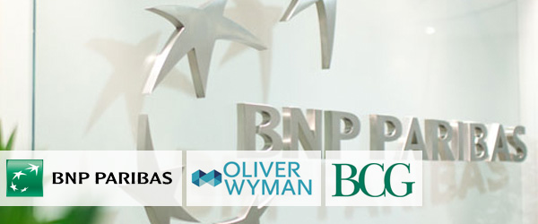 BNP Paribas hires Oliver Wyman and BCG