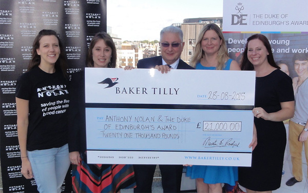 Baker Tilly raises 21,000 for charity