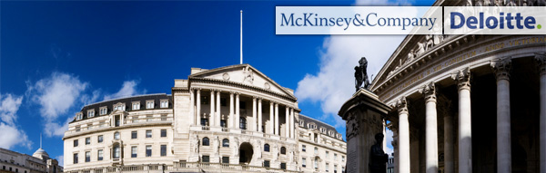 Bank of England - McKinsey - Deloitte