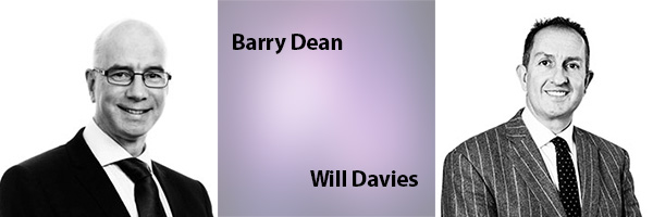 Barry Dean and Will Davies