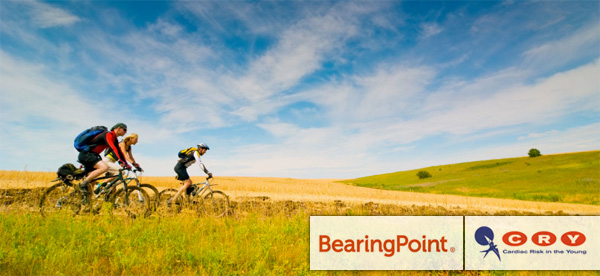 BearingPoint Ireland cycles for charity