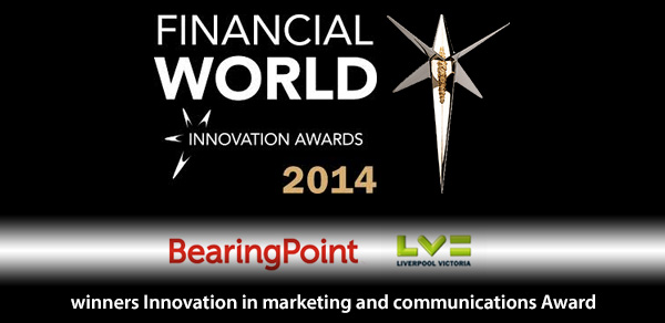 BearingPoint and LV= win Financial Innovation Award
