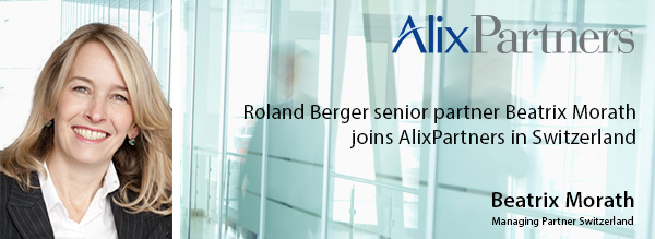 Beatrix Morath joins AlixPartners in Switzerland