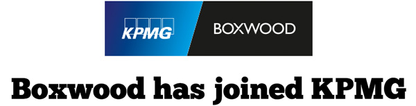 Boxwood has joined KPMG