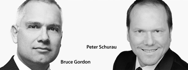 Bruce Gordon and Peter Schurau
