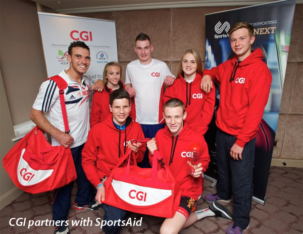 CGI partners with SportsAid