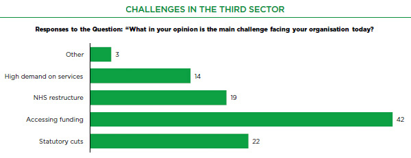 Challenges in the third sector